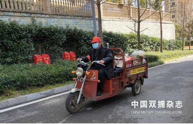 """宜昌""""预备役军人示范线路"""" 主动当好疫情防控""""摆渡者"""""""